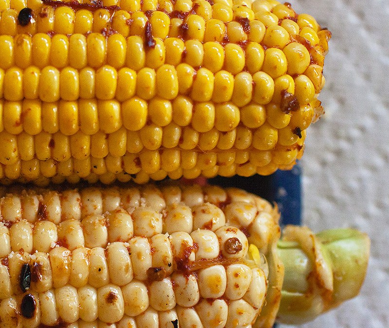 Grilled Chipotle-Lime Mexican Style Corn