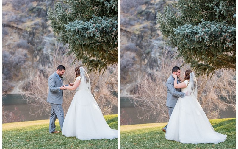 What is a first look? | Logan Utah Wedding Photographer