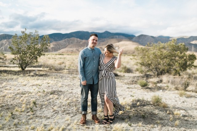 palm springs engagement photos cabazon dinosaur engagement moorten botanical garden wedding - 13