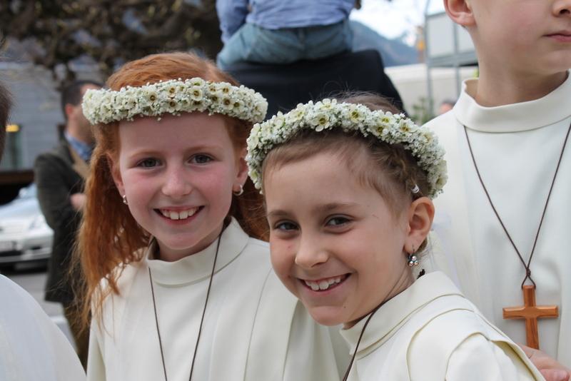 Erstkommunion wir freuen uns