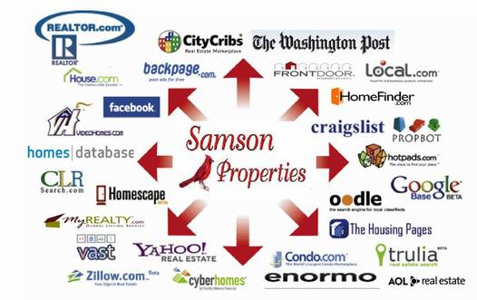 samson properties marketing online