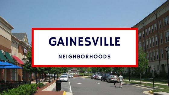 gainesville va neighborhoods