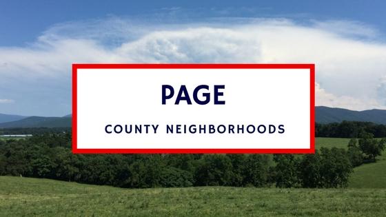 page county va subdivisions