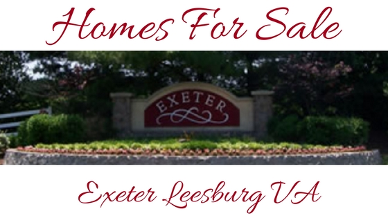 Homes For Sale exeter leesburg va