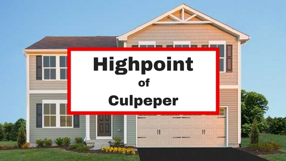 homes for sale highpoint of culpeper