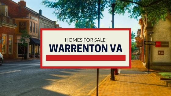 warrenton va homes for sale