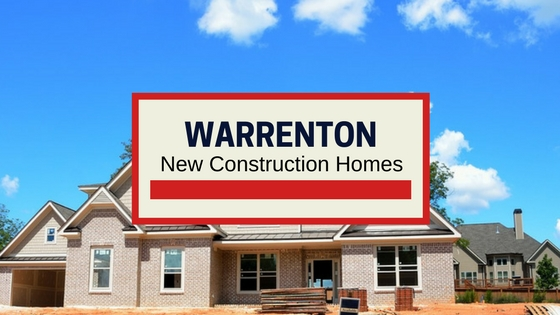 warrenton va new homes for sale