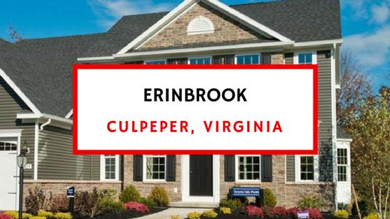 erinbrook culpeper va homes for sale