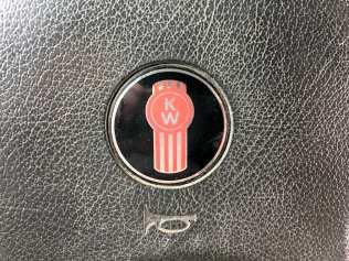 A Kenworth logo on Jack's steering wheel thrown in for good measure.