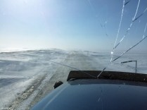Blowing snow on the Dalton Highway - The Jack Jessee Blog