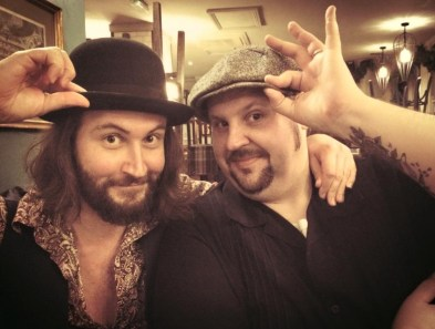 At the Blues Magazine Xmas party with Big Boy Bloater