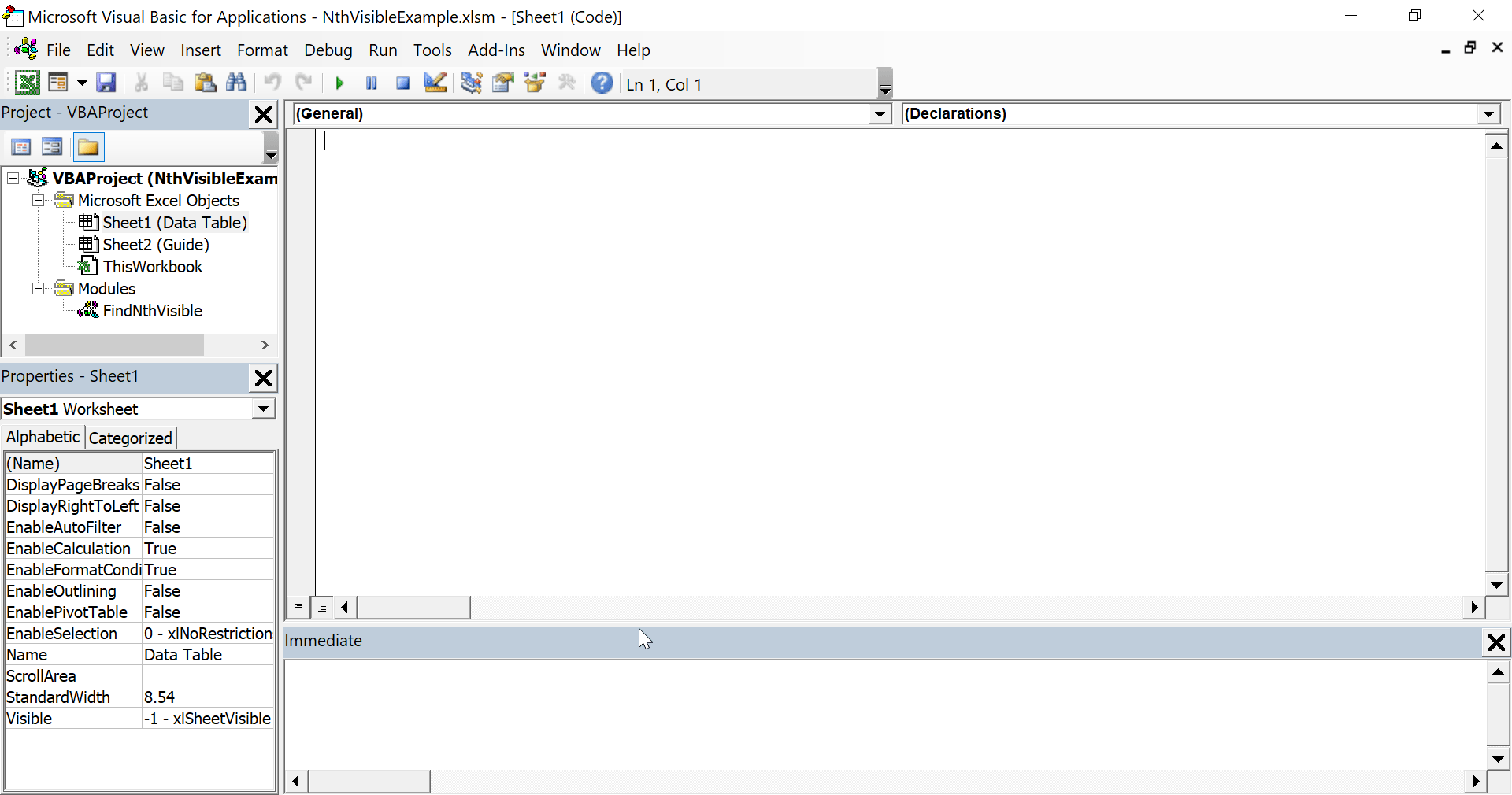 Jack Mckew S Blog Find Nth Visible Cell With Vba