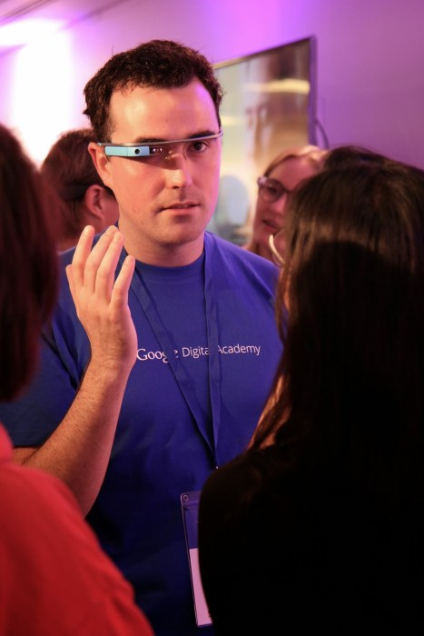Google Digital Academy - Google Glass Demo