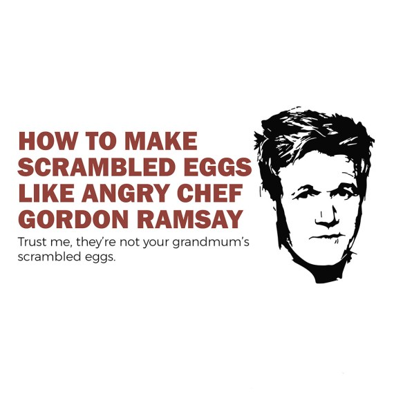 Chef Gordon Ramsay Infographic