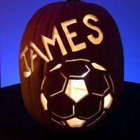Soccer Jack O' Lantern