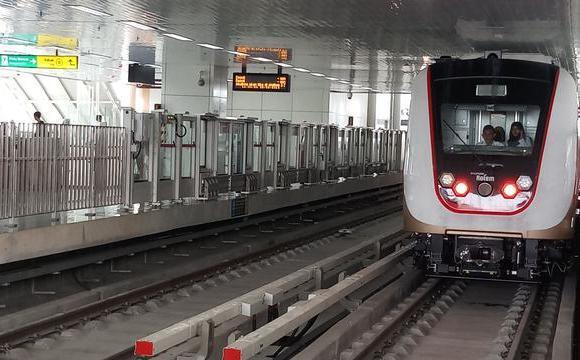 Tarif LRT Jakarta Ditetapkan Rp 5.000