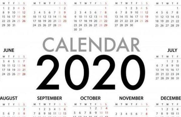 Kalender Libur Nasional dan Cuti Bersama 2020