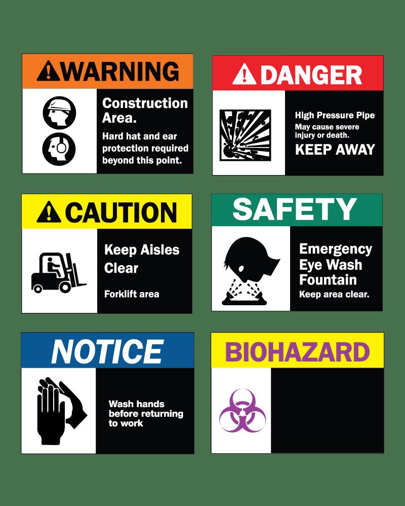 ANSI-SAFETY-SIGNS