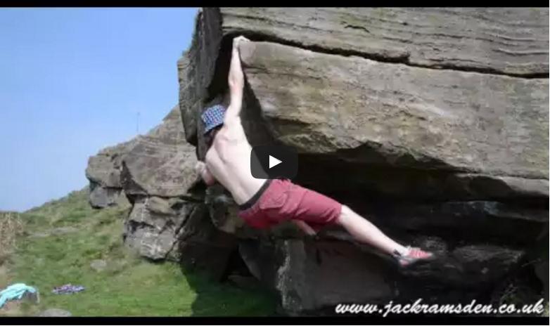 Bouldering at Clifftop Boulder