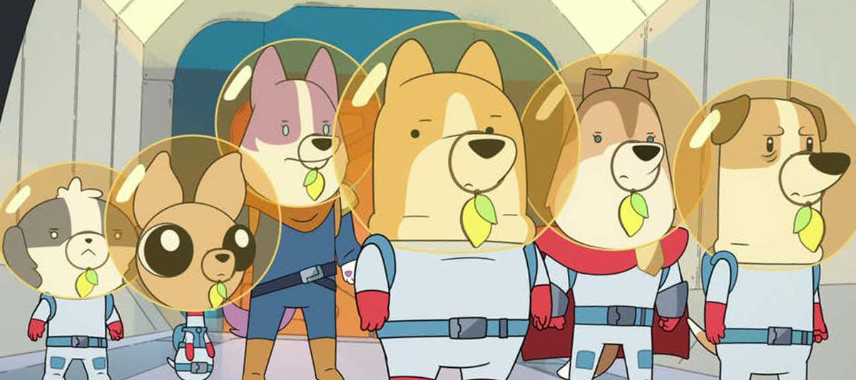 netflix dogs in space