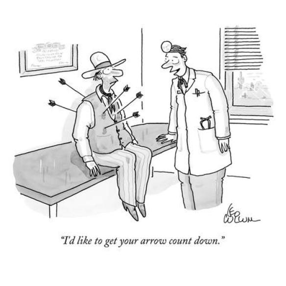 leo-cullum-i-d-like-to-get-your-arrow-count-down-new-yorker-cartoon