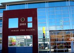 Fire Station Hobart.