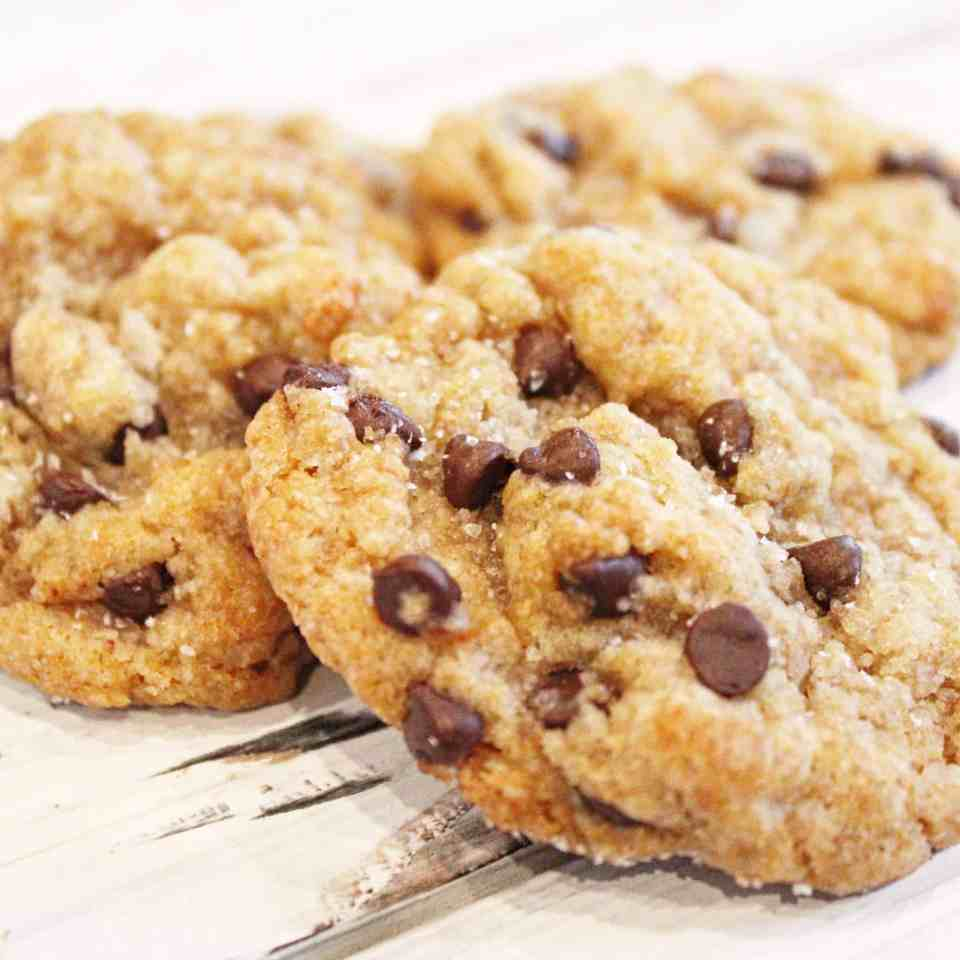 salted-chocolate-chip-Dairy Free cookies