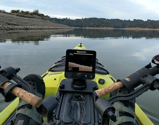 Contour trolling for bass