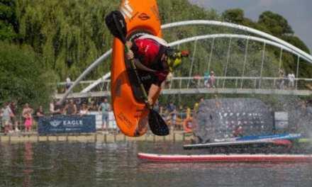 Bedford River Festival 2018 Big Air Ramp