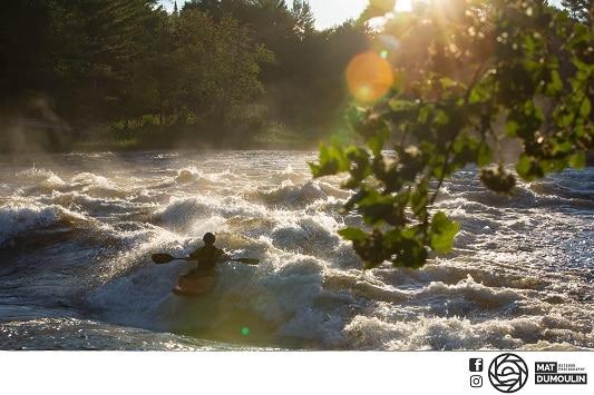 """""""Golden Hour"""" on the Ottawa River"""