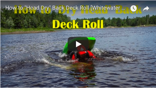 """How to """"Dry Head"""" Back Deck Roll"""