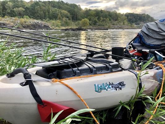 Liska on the Coosa River