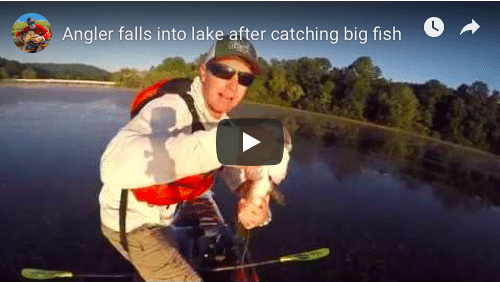 Angler Overboard