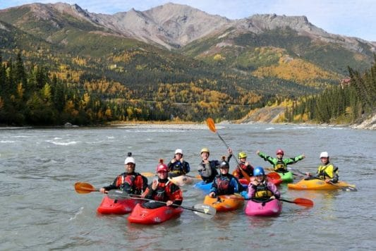 Paddling the Glacial Waters of the Nenana Riverwith the KelloggShow