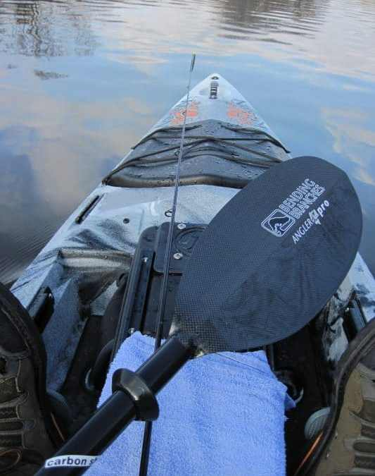 """Bending Branches Angler Pro Carbon, a """"Wow"""" Factor Paddle"""