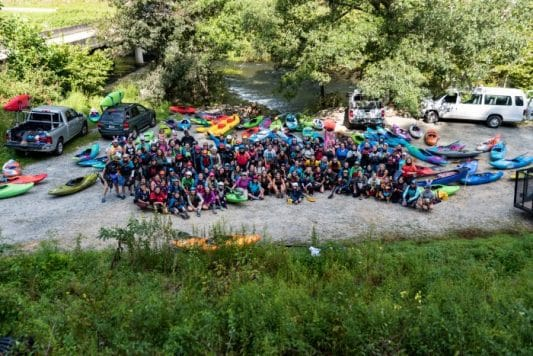 Importance of Female Kayaking Events