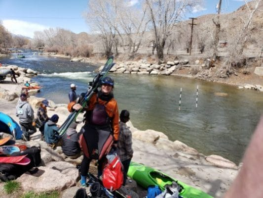 Salida 3P Race – using multi-sport training to maintain overall fitness and paddling readiness