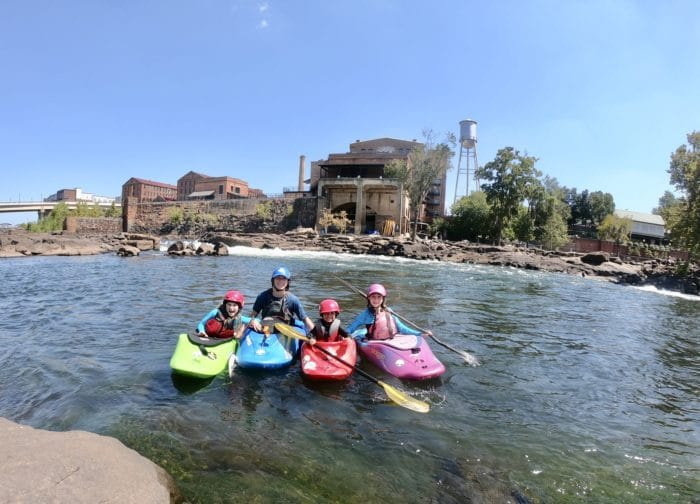 Moments of Magic – How to have an Epic Lunch Break, on the River, With Your Kids