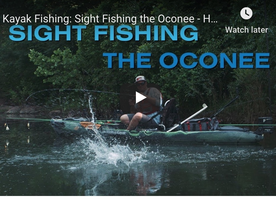 """VIDEO: Hooked on Wild Waters, """"Sight Fishing the Oconee"""""""