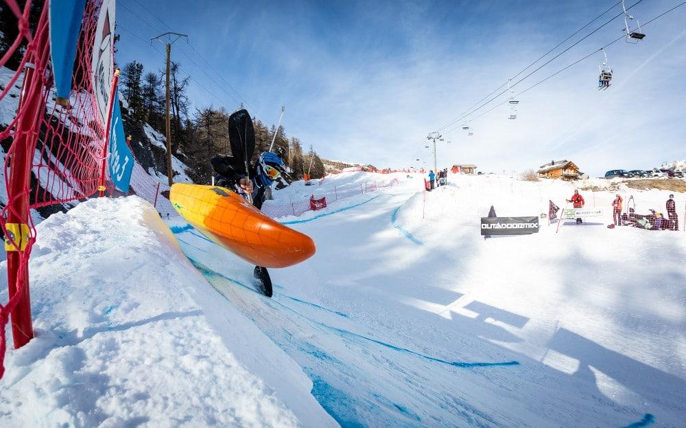 Outdoormix Winter Edition Snow Kayak 2020