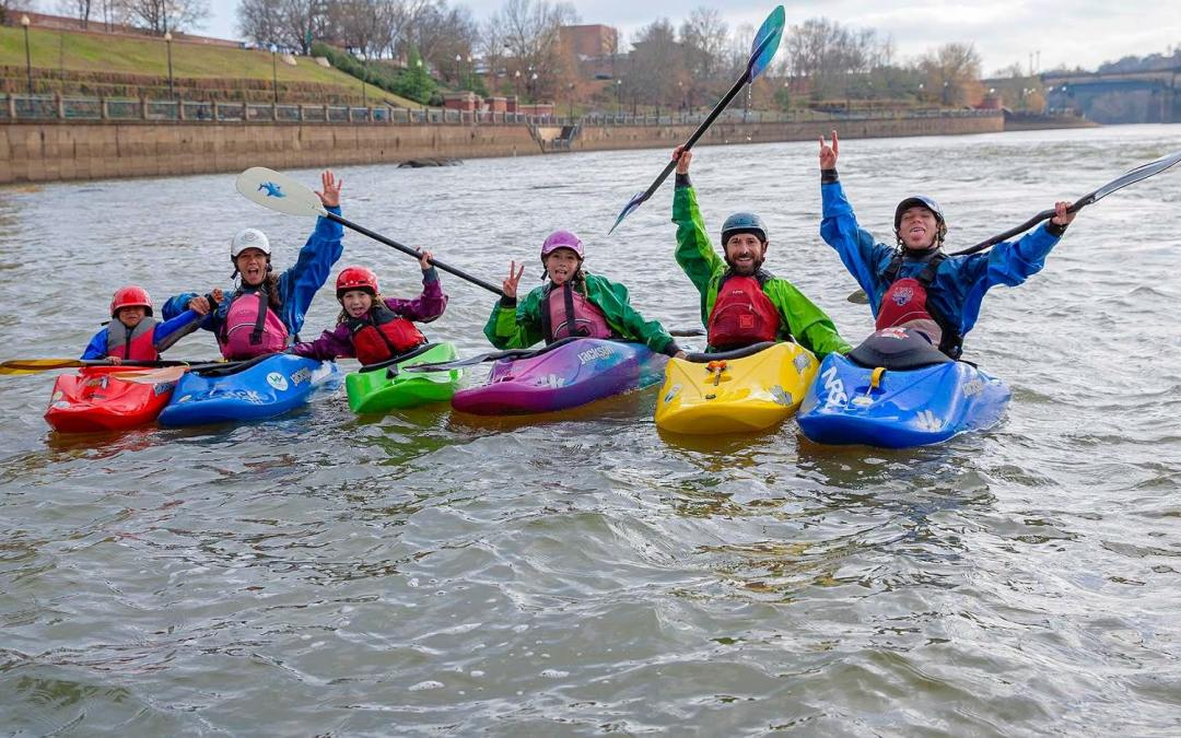 Essential Tips For Whitewater Kayaking with Kids