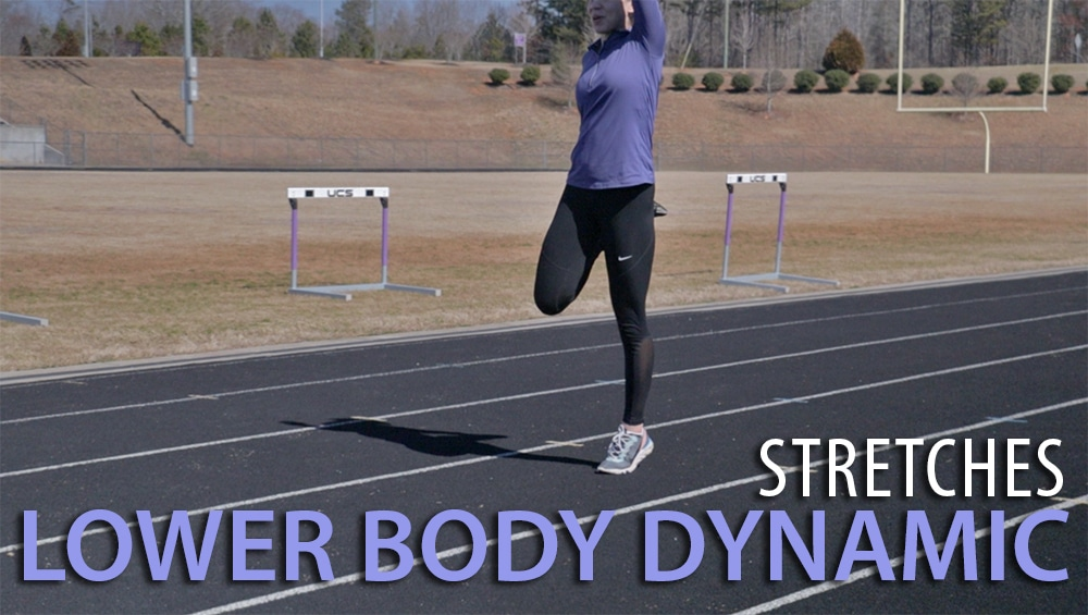 Kayaking Dynamic Lower Body Stretches
