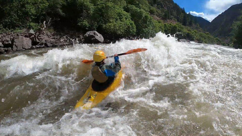 Little KelloggShow Groms Kayak Shoshone on the Colorado River!