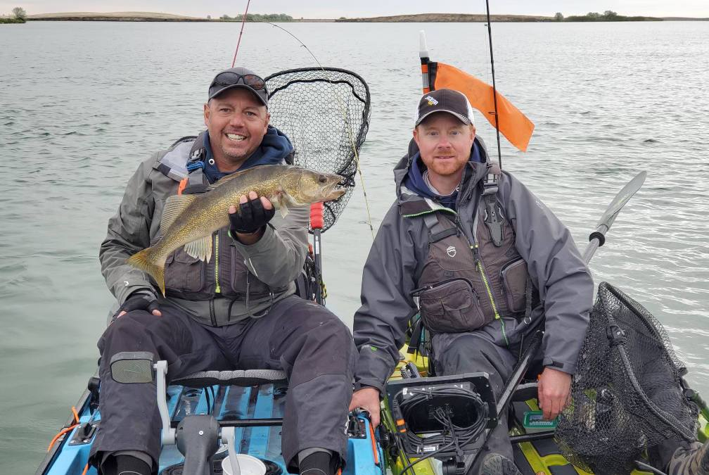 Fishing The Wild West TV……in a Kayak