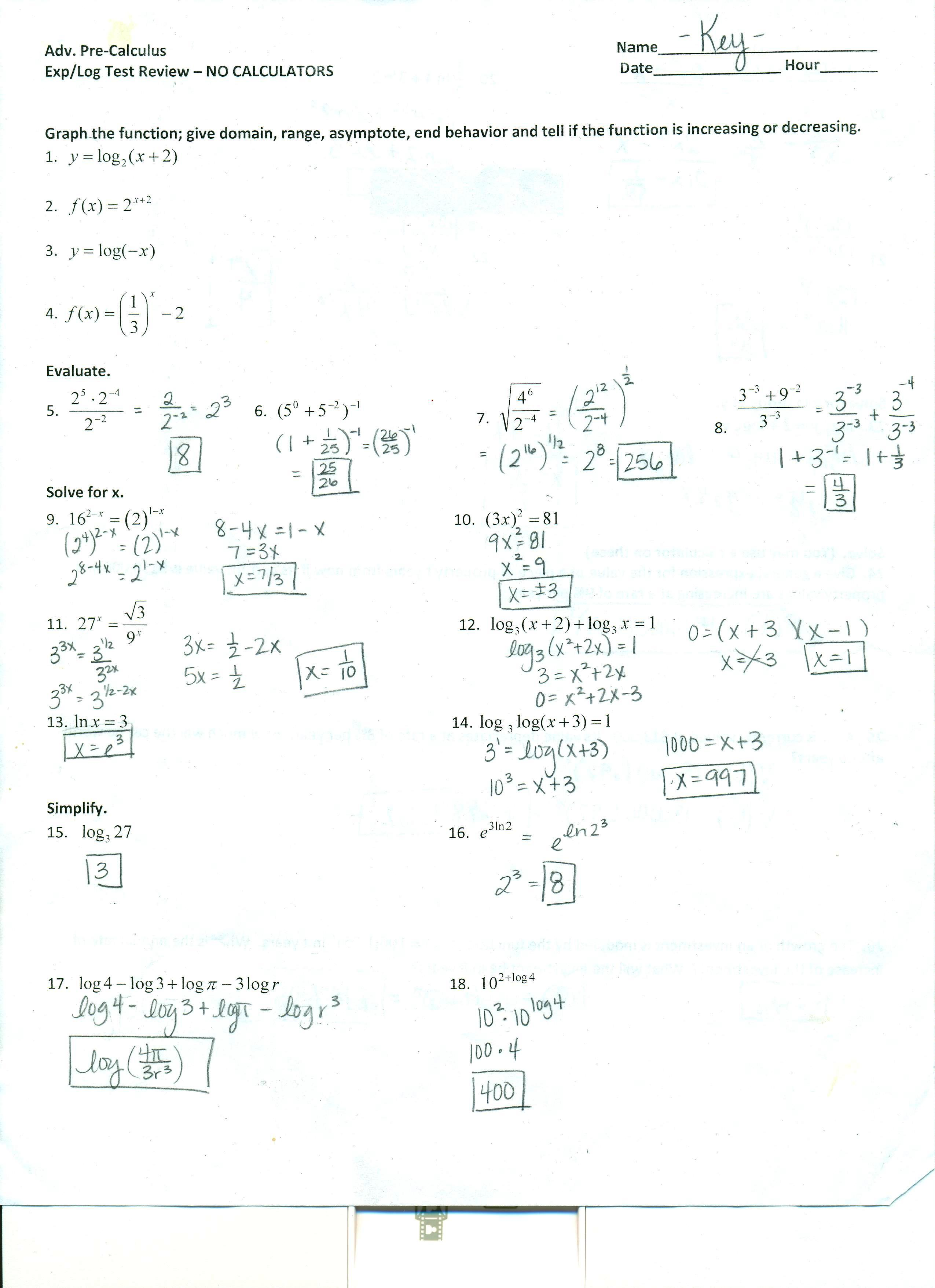 32 Solve Trig Equations Worksheet