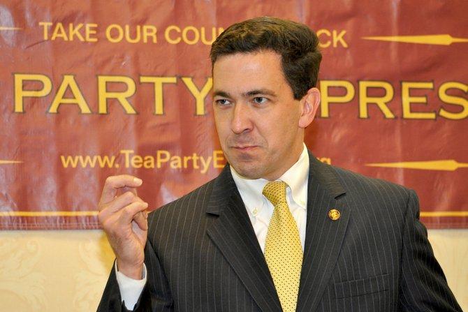 Sen. Chris McDaniel announced Thursday, Oct. 17 that he will run for U.S. Congress in 2014.