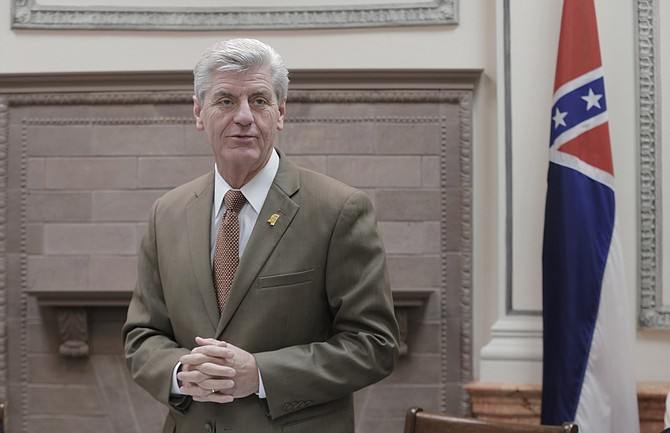 Gov Phil Bryant Pictured Appointed M Wayne Thompson To Replace Jones County