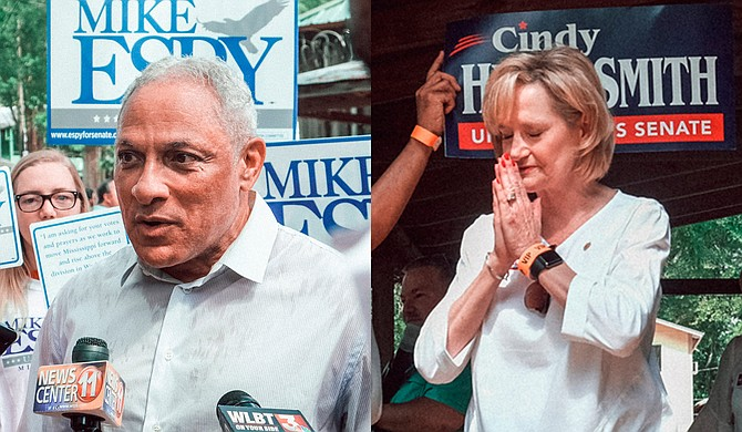 U.S. Senator Cindy Hyde-Smith and candidate Mike Espy will engage in a debate on Nov. 20, 2018, marking the first time Mississippi U.S. Senate candidates have done this in 10 years. Photos by Ashton Pittman