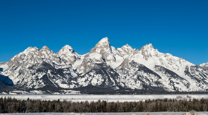 Tetons From Four Winter Views…