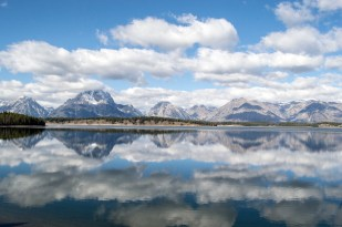 Jackson Lake and Mt Moran